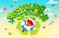 Juego Doraemon recycling operation
