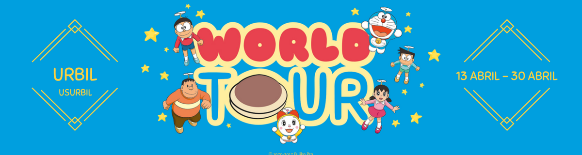doraemonworldtour ¡Doraemon World Tour 2017, el evento infantil en Guipúzcoa más chulo!