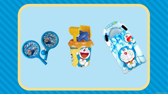 Concurso Gana este lote de productos Doraemon en el Concurso julio