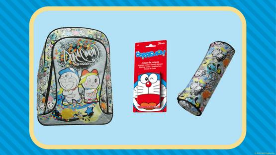 Concurso Gana este lote de productos Doraemon en el Concurso septiembre