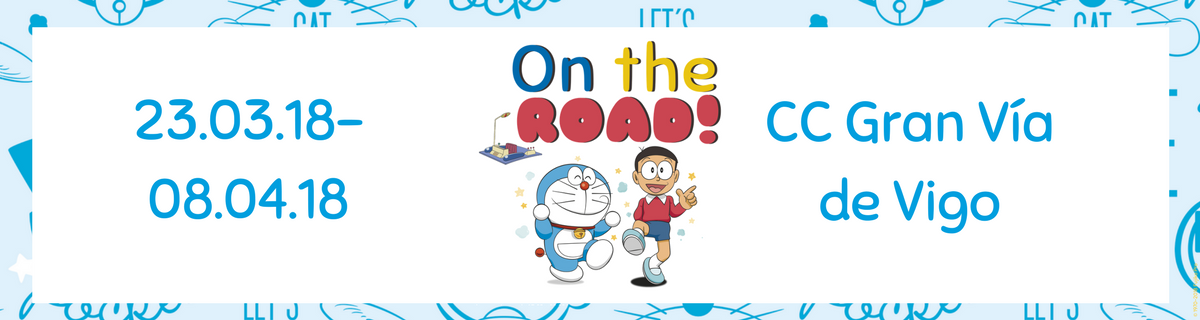 El evento infantil en Vigo más esperado: Doraemon On The Road 2018