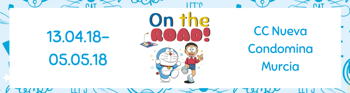 El evento infantil en Murcia más esperado: Doraemon On The Road 2018