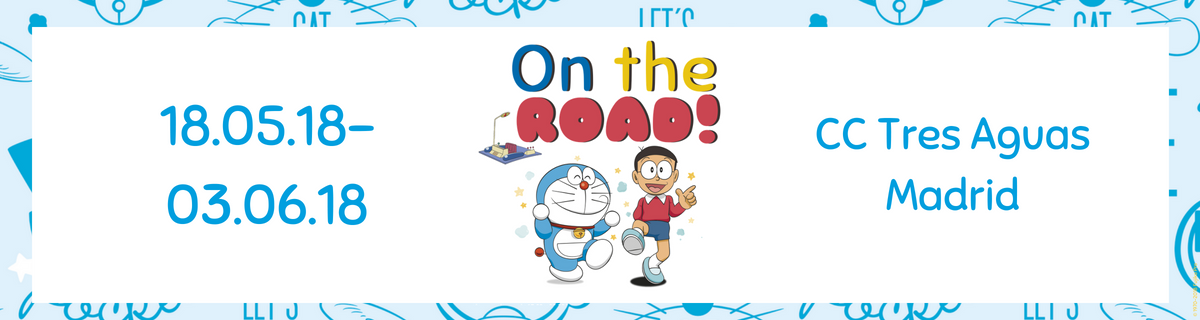 Centro Comercial El evento infantil en Madrid más divertido: Doraemon On The Road 2018
