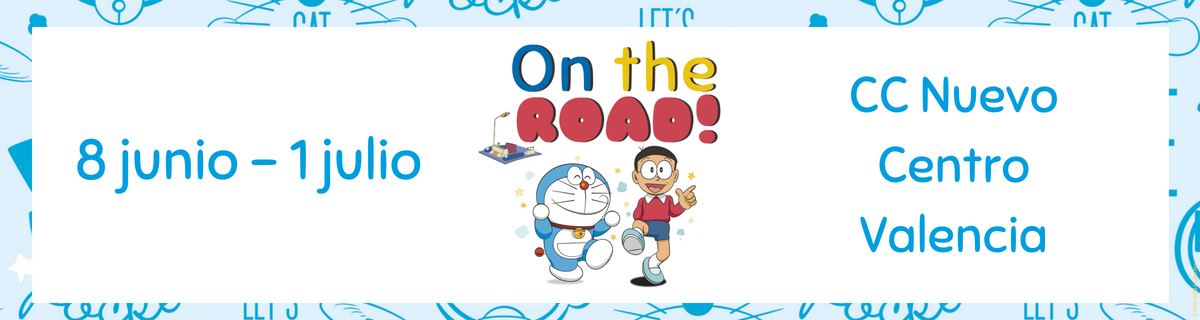 Doraemon El evento infantil en Valencia más divertido: Doraemon On The Road 2018