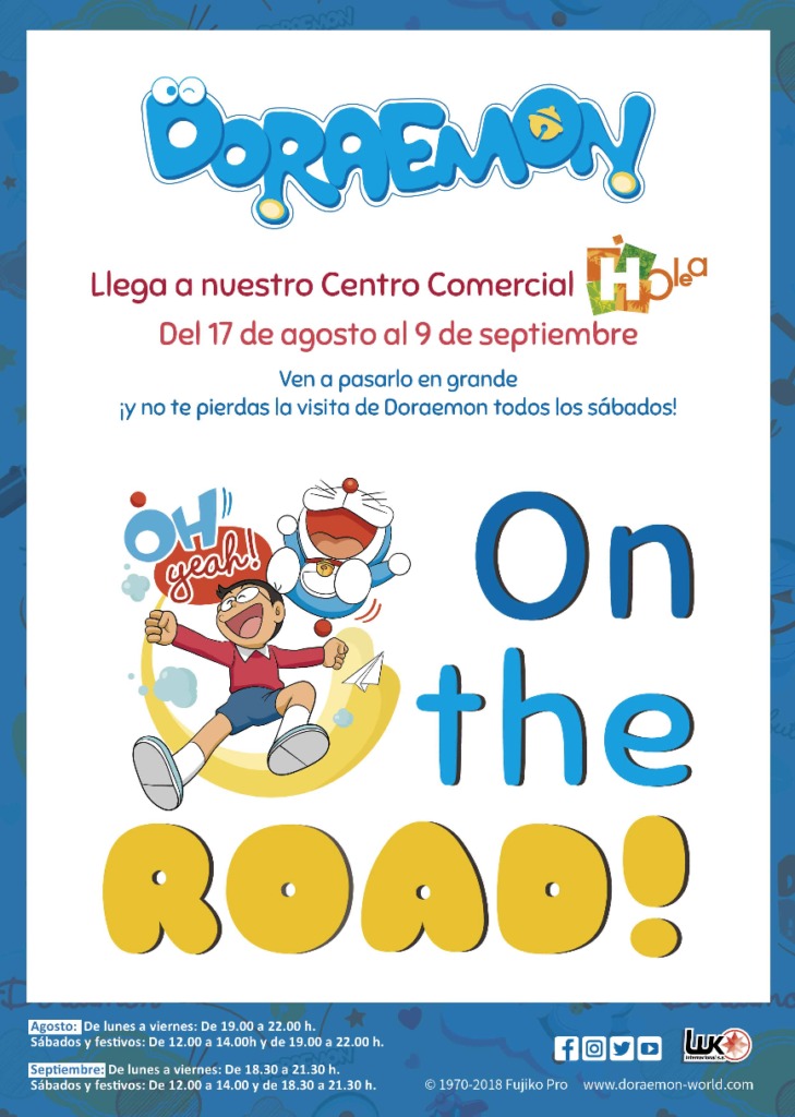 Doraemon on the Road Huelva