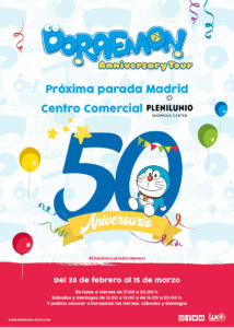 Plan con niños en Madrid - Doraemon Tour